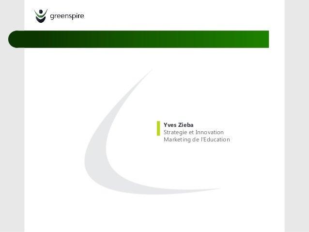 Yves ZiebaStrategie et InnovationMarketing de l'Education