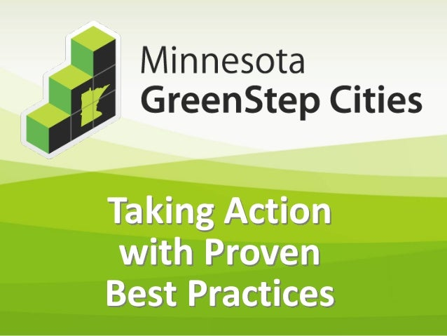 Taking Action with Proven Best Practices