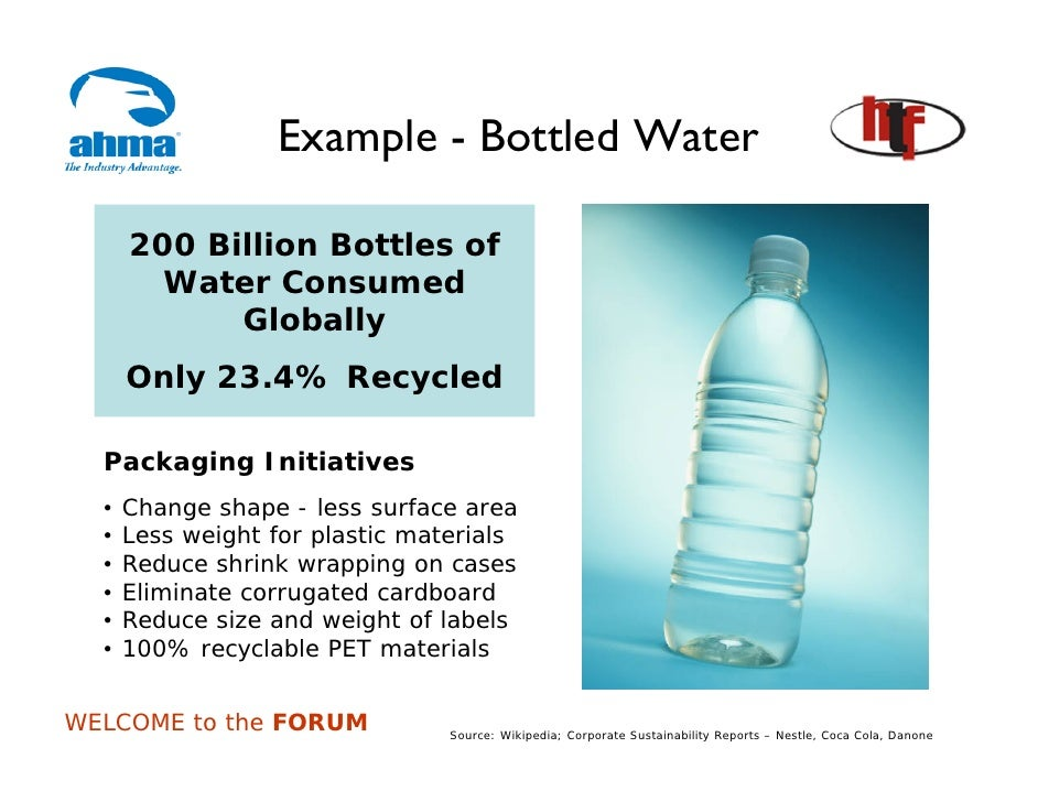 """supply chain bottled water """"there is nothing more common than to find considerations of supply affecting the  insight as to why we choose bottled water as a first option above all."""