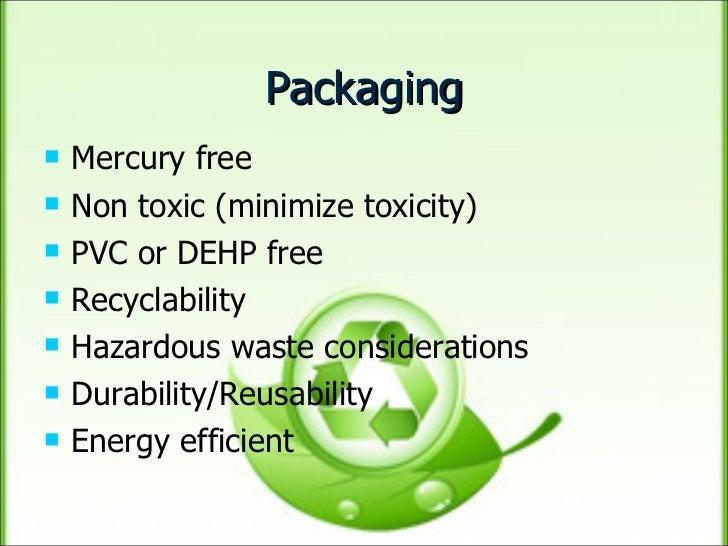 Green supply management