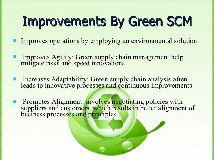 green supply chain thesis Green supply chain news: a middle-ground, more positive view on the impact of climate change two eco-pundits say impact will be signifcant but can be managed - by.