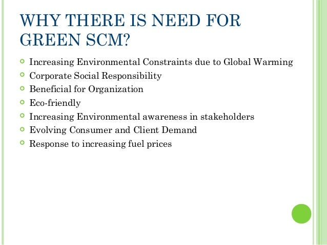 9 what is green supply chain