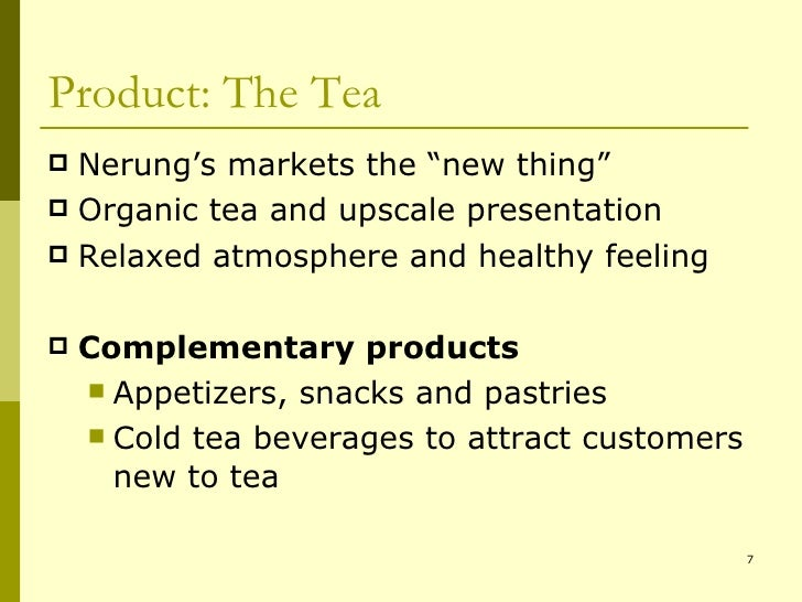 marketing plan of olive tea This free business essay on essay: business plan - 'joyice' iced tea is perfect for marketing plan for a new product like ice tea in market promotion is the.