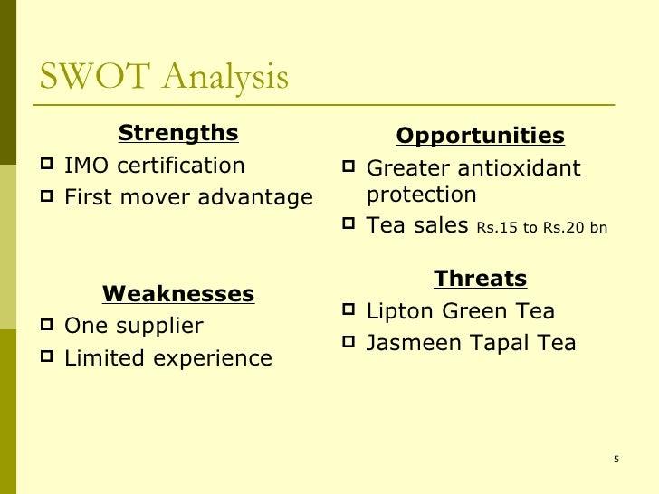SWOT Analysis <ul><li>Strengths </li></ul><ul><li>IMO certification </li></ul><ul><li>First mover advantage </li></ul><ul>...