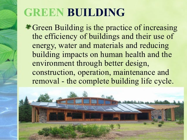 Green technology for I 10 building materials
