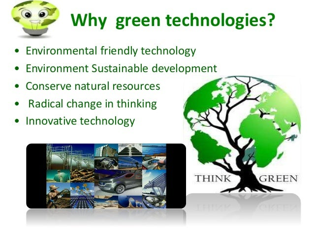 what is green technology pdf