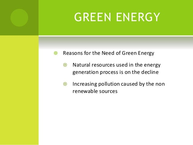 green technology ppt, Powerpoint templates