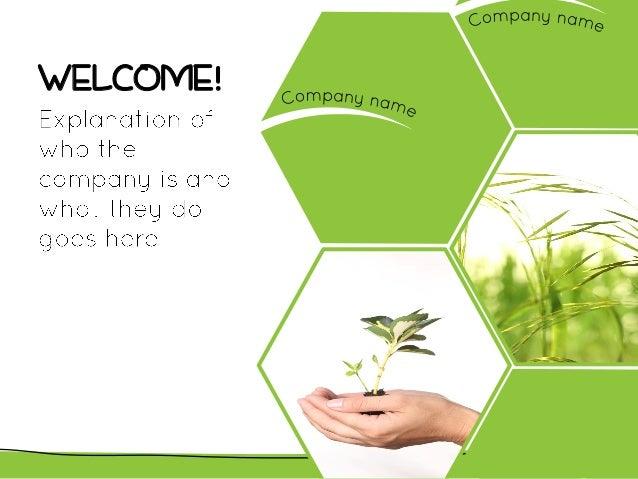 Green theme Slide 2