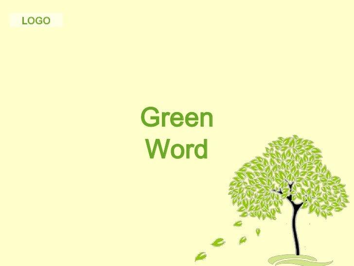 Powerpoint template tree vatozozdevelopment free powerpoint template green tree toneelgroepblik Image collections