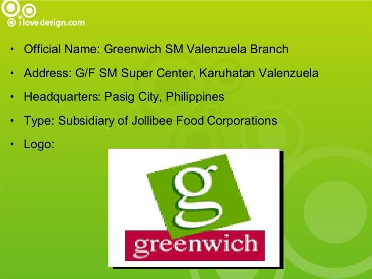 Greenwich Presentation Slide 3