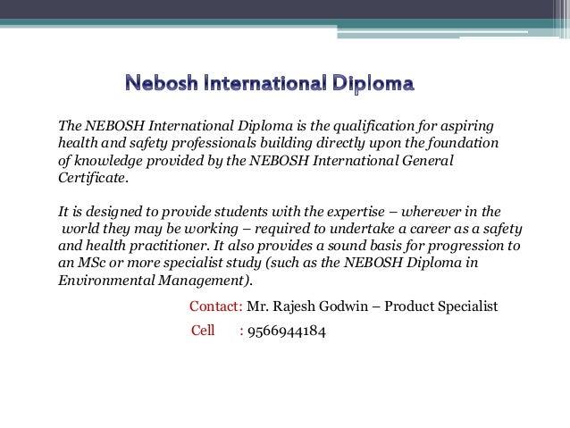 Indhumathy 8098819456 3 The NEBOSH International Diploma
