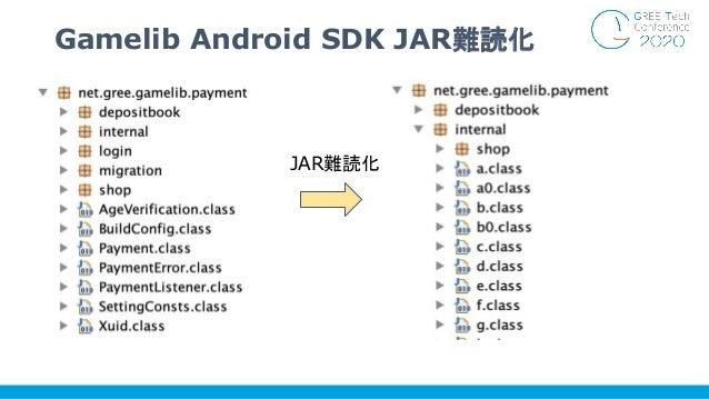 Gamelib Android SDK JAR難読化 JAR難読化