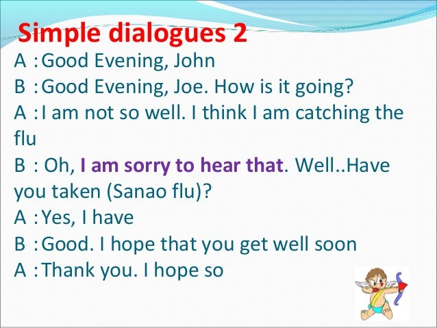 Greeting and responses i hope so 6 match the m4hsunfo