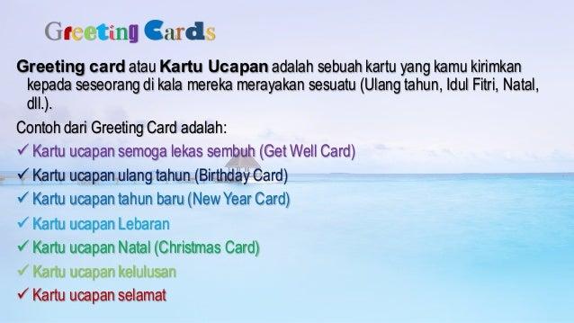 Greeting Cards Kartu Ucapan