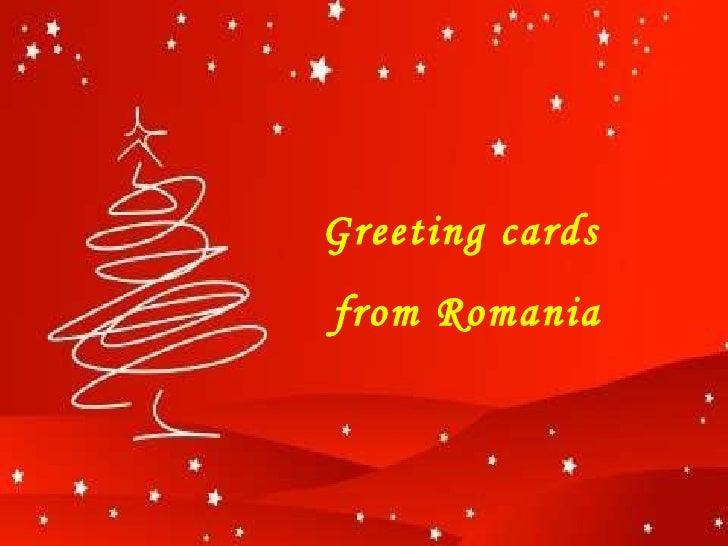 Greeting cards from romania m4hsunfo