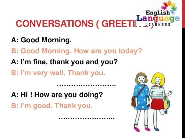 how to write a good conversation