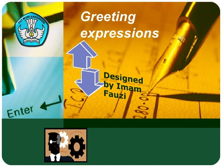 Greeting expressions