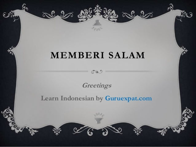 Greeting in indonesian memberi salam greetings learn indonesian by guruexpat m4hsunfo