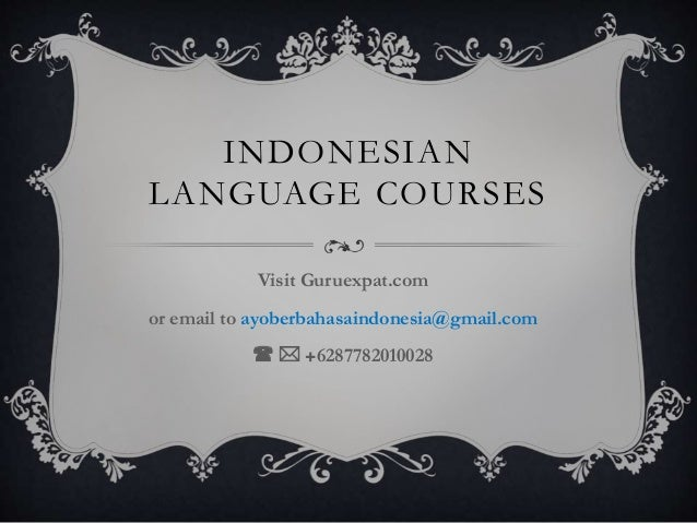 Greeting in indonesian indonesian language m4hsunfo