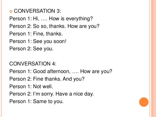 Greetings farewells and other expressions 11 conversation m4hsunfo