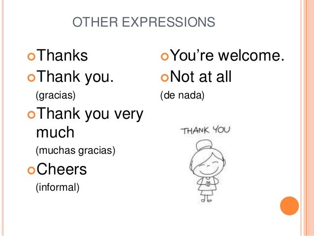 Greetings farewells and other expressions buen fin de semana 8 other expressions m4hsunfo