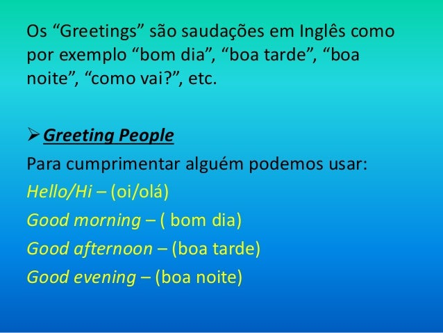 Greetings And Introductions By Thais Mendonça Martins