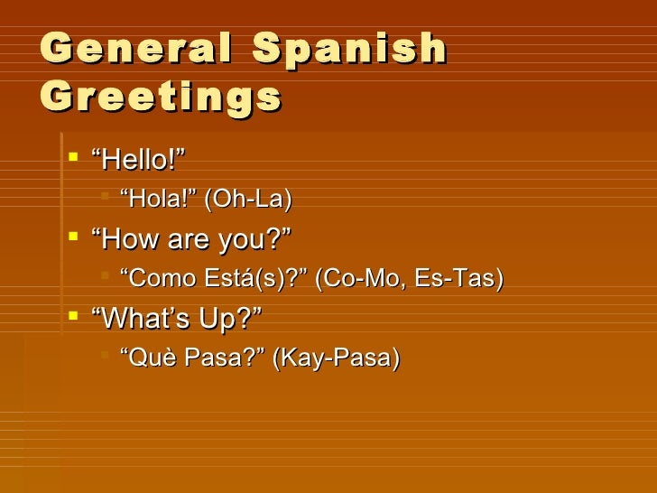 Greetings and introductions slideshow lets learn spanish 8 m4hsunfo
