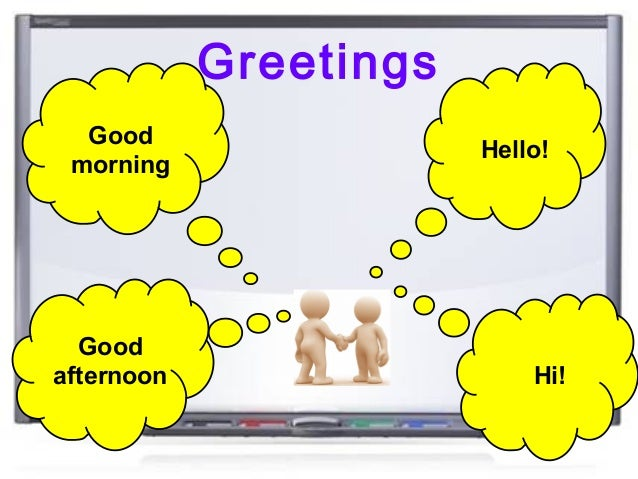 Good Morning To You In Japanese : Greetings farewells and introducing people
