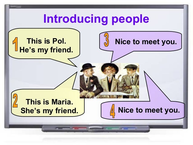 Resultat d'imatges de introducing a friend