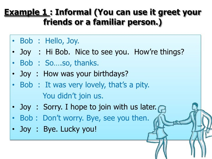Greetings& introductions 1 Slide 3