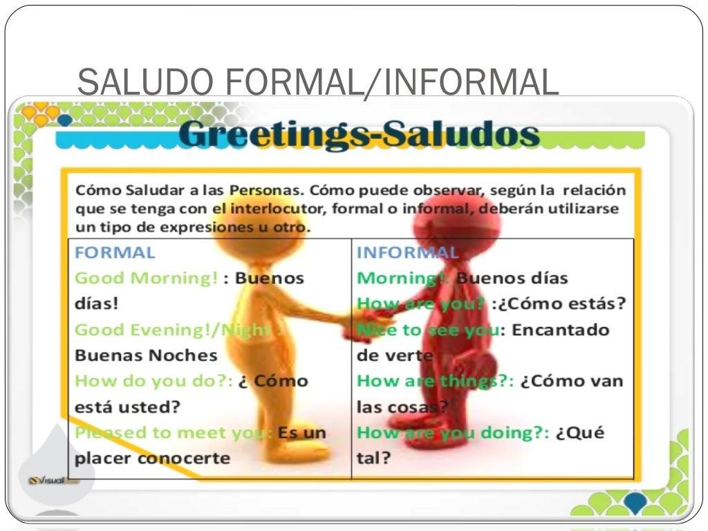 Greetings Saludos En Ingls