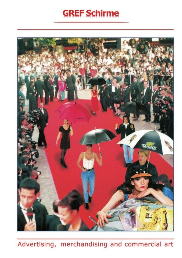 GREF Schirme Katalog