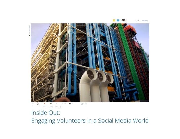 Greg Baldwin- VolunteerMatch, Inside Out: Engaging Volunteers in a Social Media World