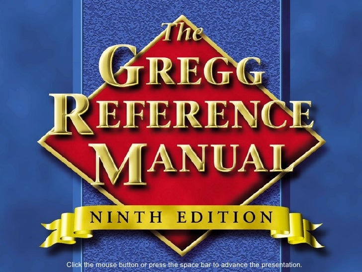 Gregg reference manual gregg reference manual upcoming slideshare spiritdancerdesigns Choice Image