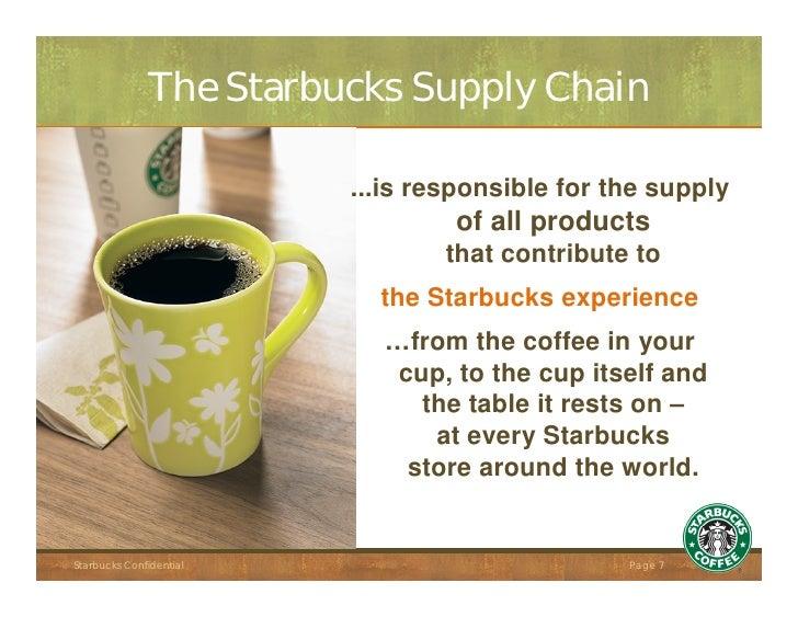 starbuck supply chain