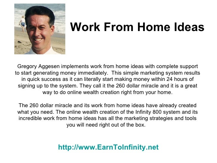 Work From Home Ideas Working From Home Is Easy With Infinity