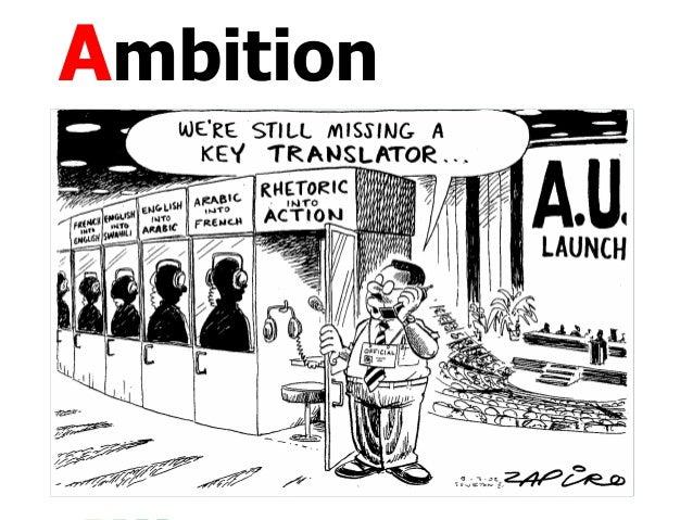 Ambition, Drivers, Participation