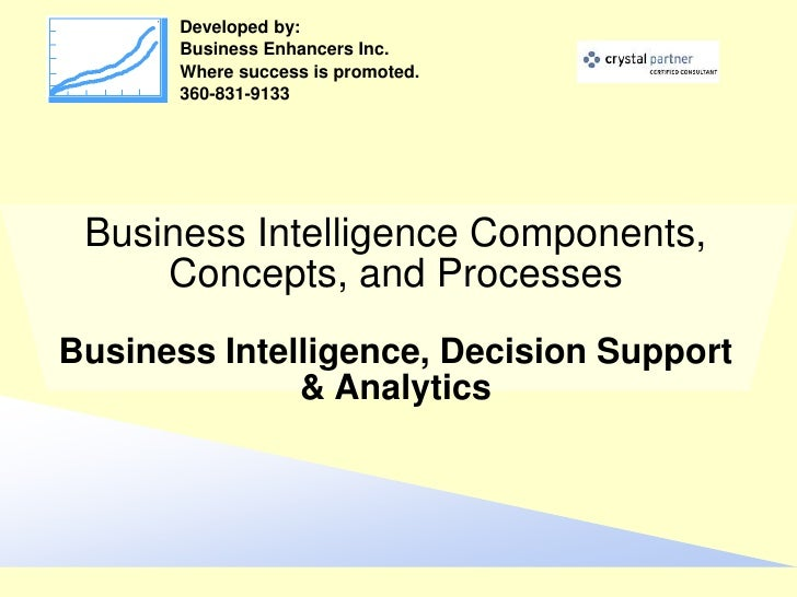 Developed by:        Business Enhancers Inc.        Where success is promoted.        360-831-9133      Business Intellige...