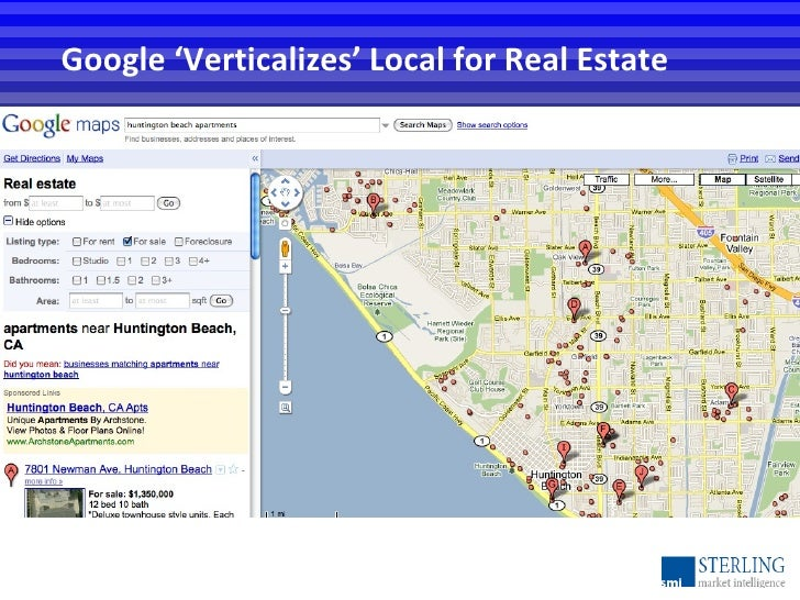 Google 'Verticalizes' Local for Real Estate