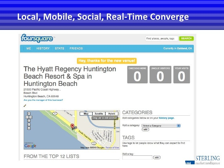 Local, Mobile, Social, Real-Time Converge