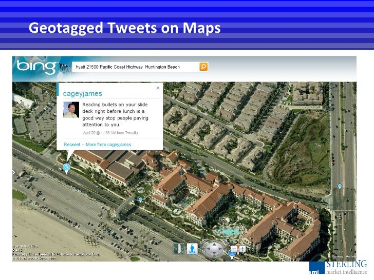 Geotagged Tweets on Maps