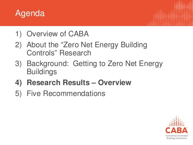 Preparing For Zero Net Energy Buildings