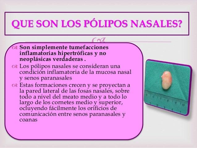 Q Son Los Orangutanes POLIPOS NASALES GREISS...