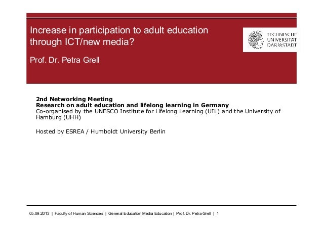 05.09.2013 | Faculty of Human Sciences | General Education Media Education | Prof. Dr. Petra Grell | 1 Prof. Dr. Petra Gre...