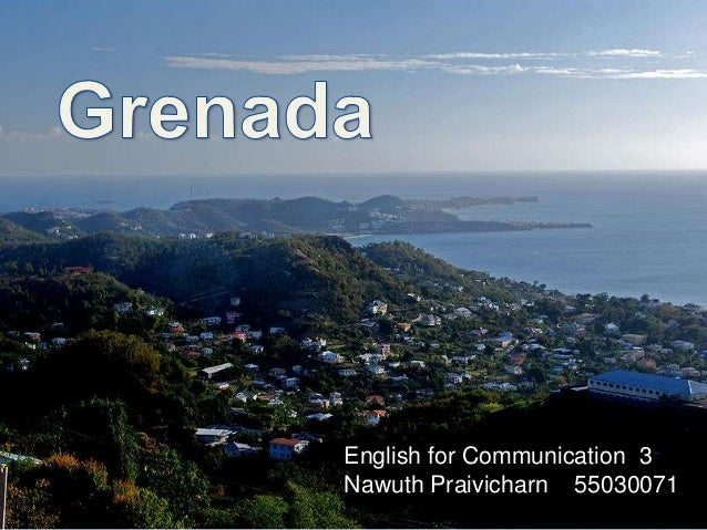 English for Communication 3 Nawuth Praivicharn 55030071