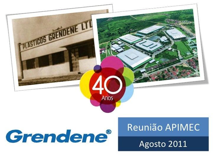 Reunião APIMEC  Agosto 2011