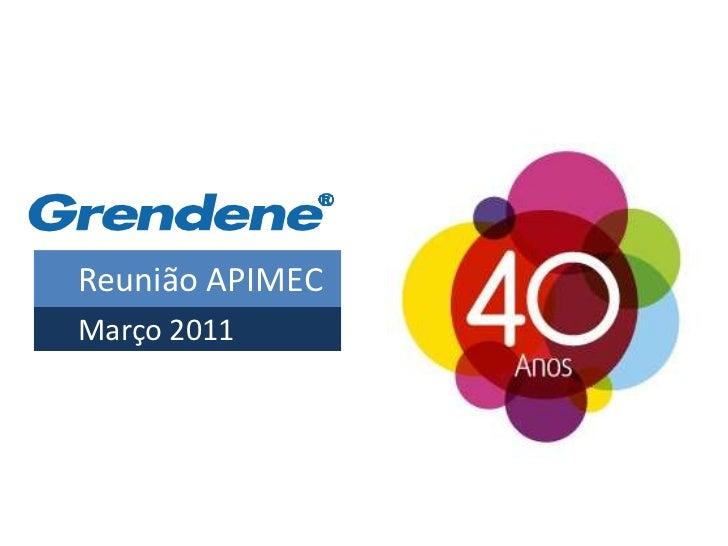 Reunião APIMECMarço 2011