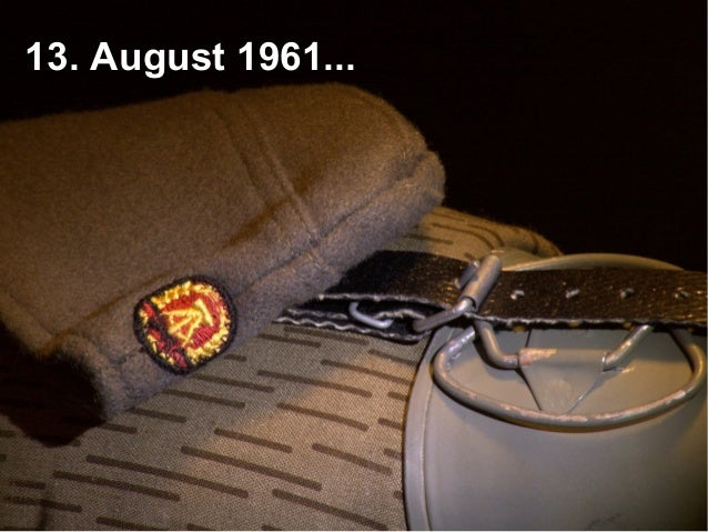 13. August 1961...
