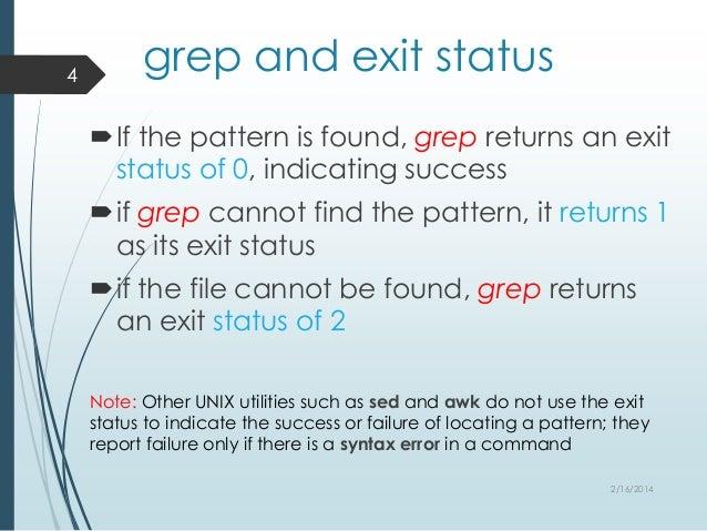 Grep - A powerful search utility
