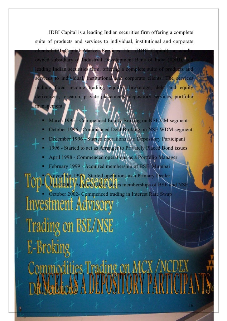 Wdm trading system